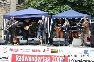"Band ""Druckreif"" der Frankenpost"