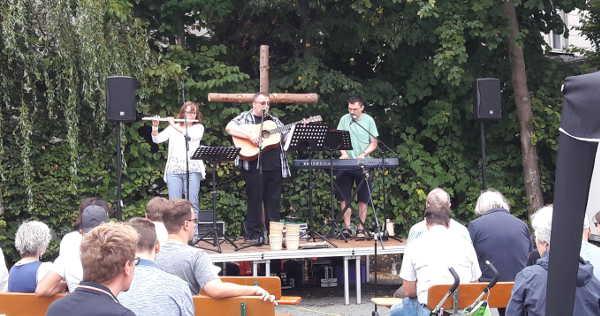 Open Air: Gottesdienstbegleitung in Hof, Hensoltshöhe