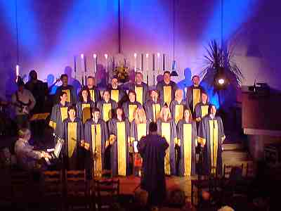 Gospelchor 'Joy in belief' in Kulmbach, Auferstehungskirche