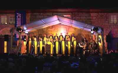 Auftritt bei den Schlosskonzerten in Thurnau