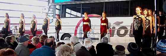 Treble Tappers zur Reisemesse bei Viol-Reisen in Rehau